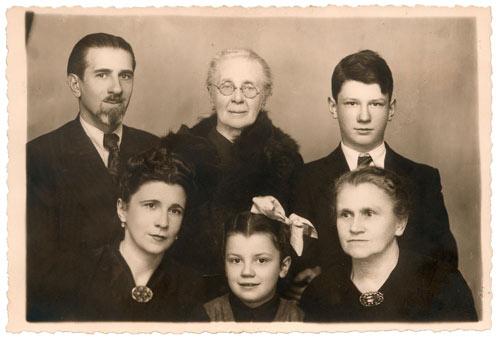 Rodzina państwa Czoj