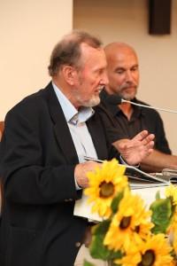 Ernest Bryll i Krzysztof Świertok, fot. Jarosław Solarski
